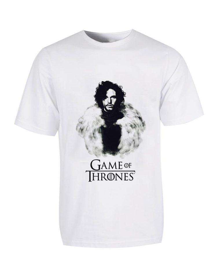 تیشرت طرح سریال بازی تاج و تخت game-of-thrones-jon-snow
