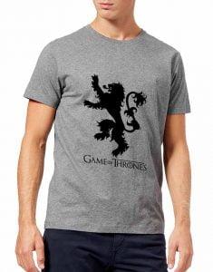 تیشرت طرح سریال بازی تاج و تخت game-of-thrones-lannister