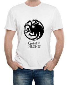 تیشرت طرح سریال بازی تاج و تخت game-of-thrones-tragaryan