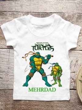 تیشرت تولد طرح لاکپشت های نینجا (کد3)